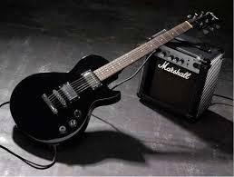 Marshall Guitars and amp