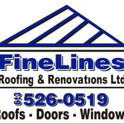 lawn signs 24 x 24 finelines (roofs-doors-windows)